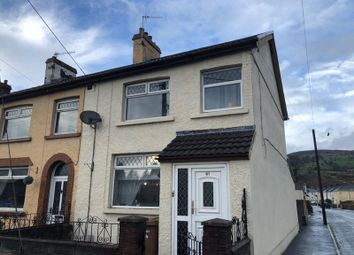 Thumbnail 3 bed terraced house to rent in Glebe Street, Bedwas, Caerphilly