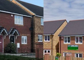 Thumbnail 3 bed semi-detached house for sale in Eden Court, Peterlee