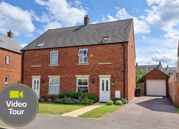 Thumbnail 3 bed semi-detached house for sale in Johnson Drive, Leighton Buzzard