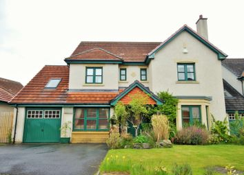 Thumbnail 4 bed detached house for sale in Leeburn View, Peebles