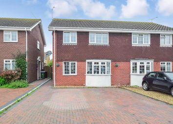 Thumbnail 4 bed semi-detached house for sale in The Hooe, Littlehampton, West Sussex