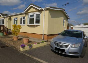 Thumbnail 2 bed mobile/park home for sale in Lodge Park, Langham, Oakham