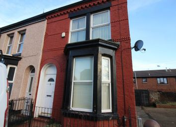 Thumbnail 3 bed terraced house for sale in Wordsworth Street, Bootle