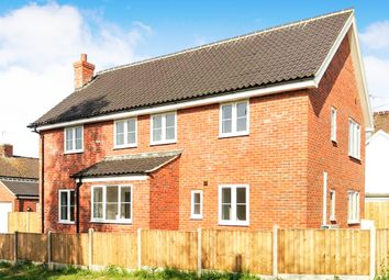 Thumbnail 4 bed detached house for sale in Mill Hill, Bradenham, Thetford