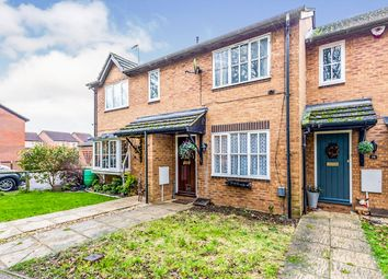 Thumbnail 2 bed terraced house for sale in Mill Close, Buntingford