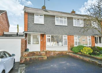 Thumbnail 3 bed semi-detached house for sale in Wessington Park, Calne