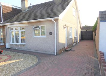 Thumbnail 3 bed semi-detached bungalow for sale in Heol Croesty, Pencoed, Bridgend.