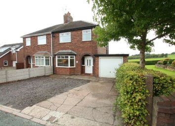 Thumbnail 3 bed semi-detached house for sale in Chapel Lane, Harriseahead, Stoke-On-Trent