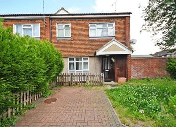 Thumbnail 3 bed end terrace house for sale in Pitsea Basildon, Harlech Close