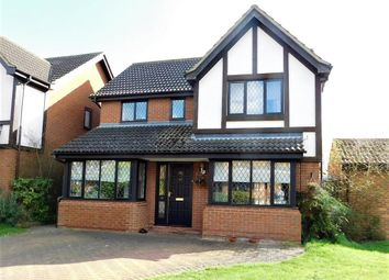 Thumbnail 4 bed detached house to rent in Ramerick Gardens, Arlesey