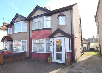 Thumbnail 4 bed semi-detached house for sale in Priory Road, North Cheam, Surrey