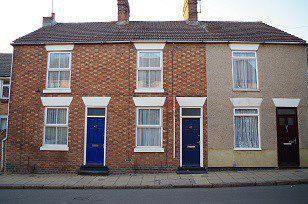 Thumbnail 2 bedroom terraced house to rent in High Street, Kingsthorpe, Northampton