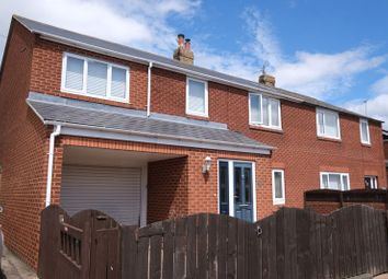 Thumbnail 5 bed semi-detached house for sale in Links Avenue, Amble, Morpeth