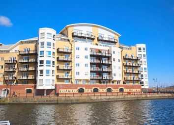 Thumbnail 2 bedroom flat for sale in Adventurers Quay, Cardiff