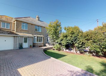 Thumbnail 4 bed semi-detached house for sale in Rosparvah Gardens, Heamoor, Penzance, Cornwall.