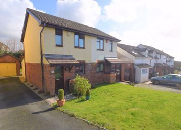 Thumbnail 2 bed semi-detached house for sale in Clover Rise, Woolwell, Plymouth
