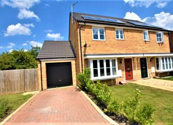 Thumbnail 3 bed semi-detached house for sale in Bruce Grove, Peterborough