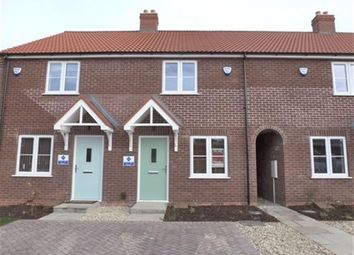 Thumbnail 2 bed terraced house for sale in Plot 7 The Jade Plus, De Montfort Park, Off Mill Road, Boston