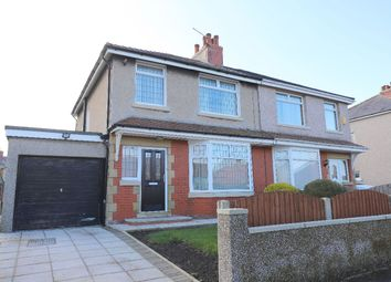 Thumbnail 3 bed semi-detached house for sale in Longlands Crescent, Heysham, Morecambe
