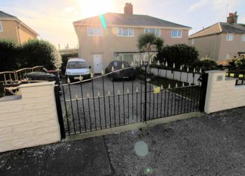 Thumbnail 3 bed semi-detached house for sale in London Road, Holyhead