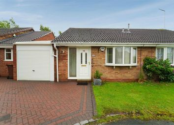Thumbnail 2 bed semi-detached bungalow for sale in Berry Hill, Hednesford, Cannock, Staffordshire