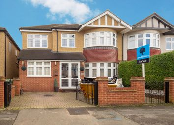 Thumbnail 6 bed semi-detached house for sale in Priory Crescent, Cheam, Sutton