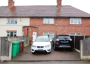 Thumbnail 2 bed terraced house for sale in Tunstall Crescent, Nottingham