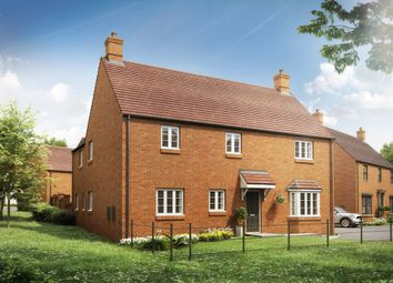 "Thumbnail 4 bed detached house for sale in ""The Edgcote"" at Heathencote, Towcester"