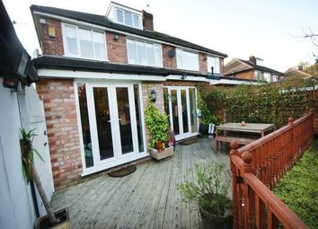 Thumbnail 4 bed semi-detached house to rent in Briarfield Road, Worsley