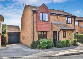 Thumbnail 3 bed detached house for sale in Hatcliffe Close, Grantham