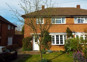 Thumbnail 3 bed semi-detached house for sale in Kennelwood Crescent, New Addington, Croydon, Surrey