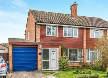Thumbnail 3 bedroom semi-detached house for sale in Rowan Close, Romsey