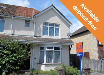 Thumbnail 1 bed flat to rent in Falkland Road, Southampton