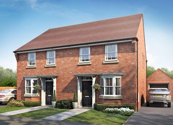 "Thumbnail 3 bedroom semi-detached house for sale in ""Oakfield"" at Cadhay, Ottery St. Mary"