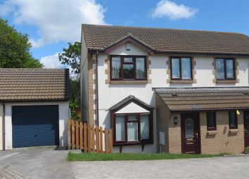 Thumbnail 3 bed property for sale in Jubilee Meadow, St Austell, St. Austell