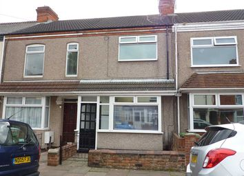 Thumbnail 3 bed terraced house for sale in Fairmont Road, Grimsby