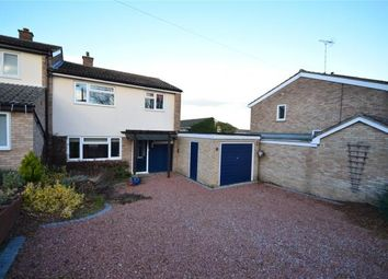 Thumbnail 3 bed semi-detached house for sale in Peaslands Road, Saffron Walden, Essex