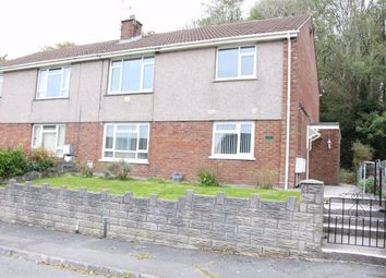 Thumbnail 2 bed flat for sale in Brynvernel, Loughor, Swansea