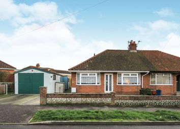 Thumbnail 2 bed semi-detached bungalow for sale in Samson Road, Hellesdon, Norwich