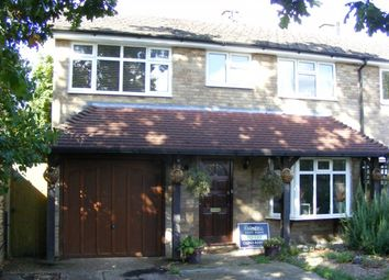 Thumbnail 4 bedroom semi-detached house to rent in Durford Road, Petersfield, Hampshire