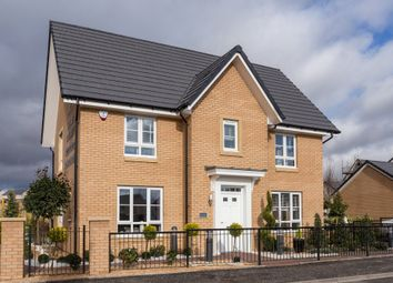 "Thumbnail 4 bedroom detached house for sale in ""Craigcrook"" at Foxglove Grove, Cambuslang, Glasgow"