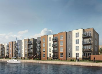 "Thumbnail 1 bed flat for sale in ""Dalia"" at St. Ann Way, The Docks, Gloucester"