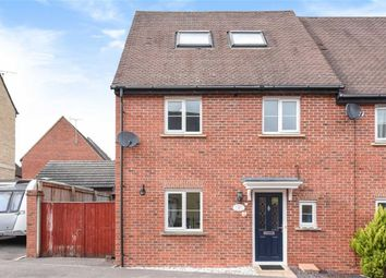 Thumbnail 4 bed end terrace house for sale in Nursery Close, Wroughton, Swindon