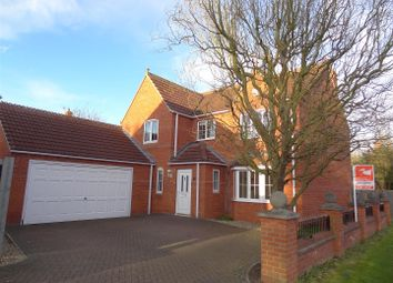 Thumbnail 4 bedroom detached house for sale in Wellington Close, Heckington, Sleaford