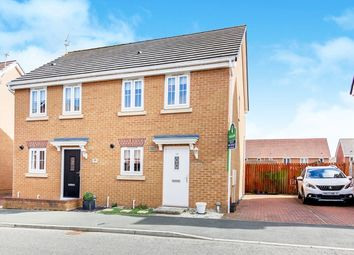 Thumbnail 2 bed semi-detached house for sale in Horton Park, Blyth, Northumberland