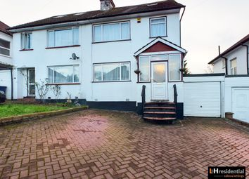 Thumbnail 4 bed semi-detached house to rent in Ellesmere Avenue, London