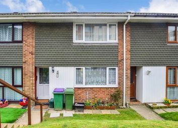Thumbnail 2 bed terraced house for sale in Holywell Avenue, Folkestone, Kent