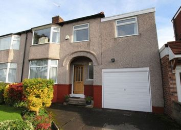 Thumbnail 4 bed semi-detached house for sale in South Mossley Hill Road, Grassendale, Liverpool
