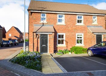 Thumbnail 2 bed semi-detached house for sale in Alder Close, Beverley
