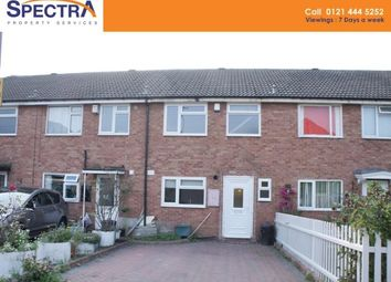 Thumbnail 3 bed terraced house to rent in Falkland Croft, Stirchley, Birmingham